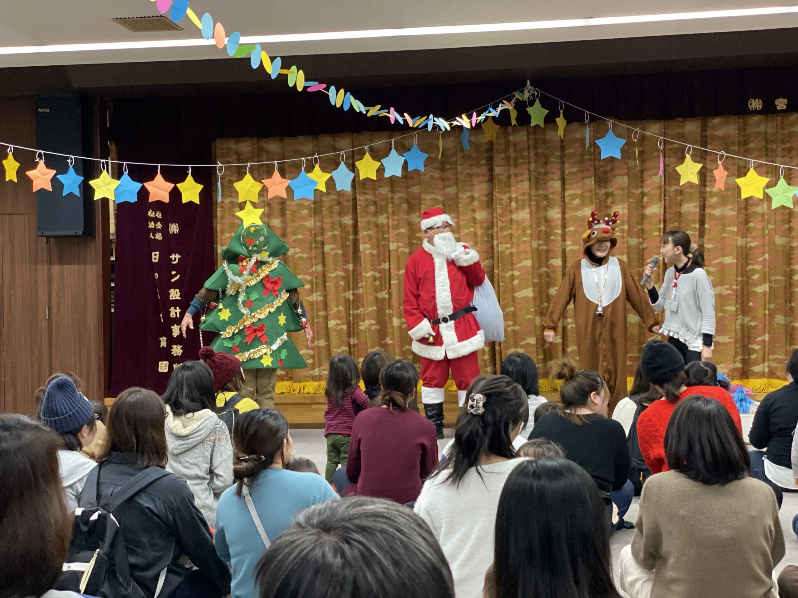 ちびっこランドクリスマス会